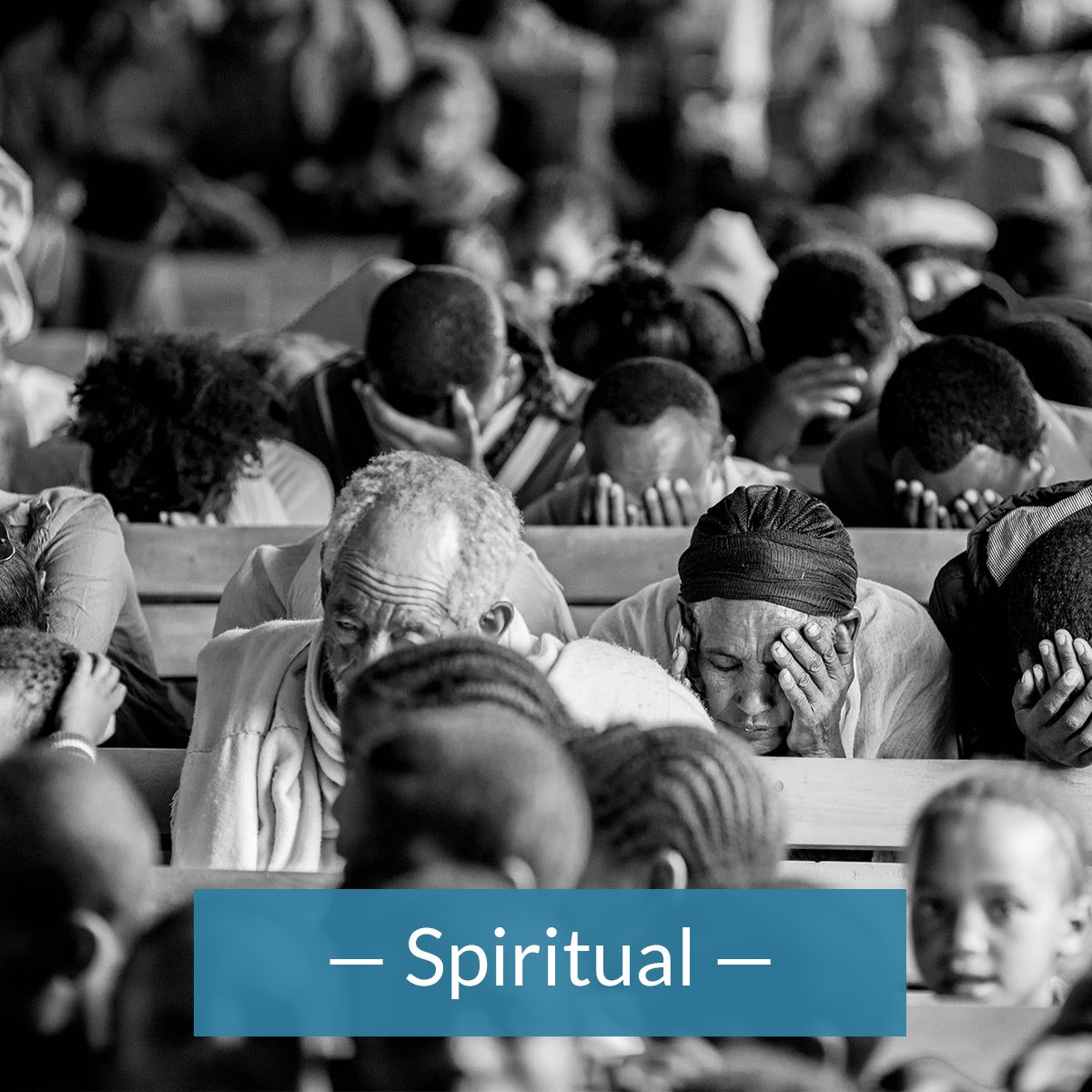 Redemptive lift effects the spiritual wellbeing of individuals in the community.
