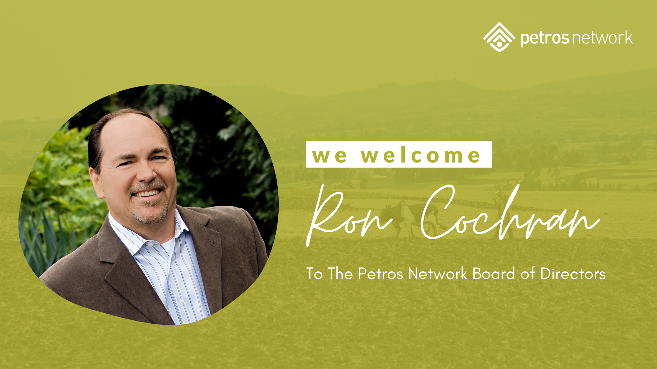 Ron Cochran Newly Appointed Member of PN Board of Directors